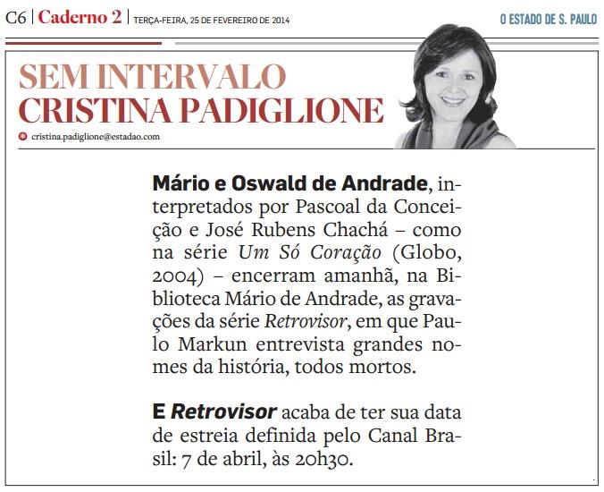 O Estado de S. Paulo - 25.02.2014