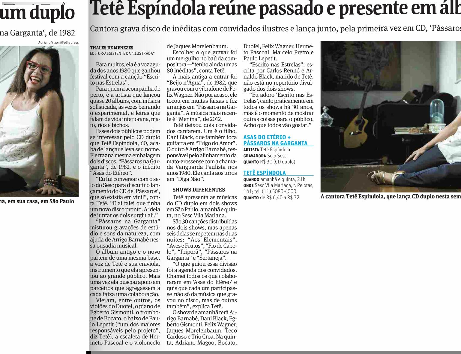 Folha de S. Paulo - 18.03.14