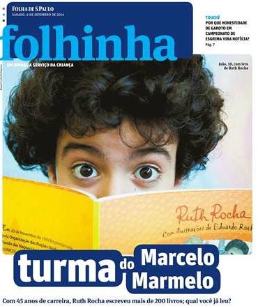 Capa - Folhinha 06.09.2014