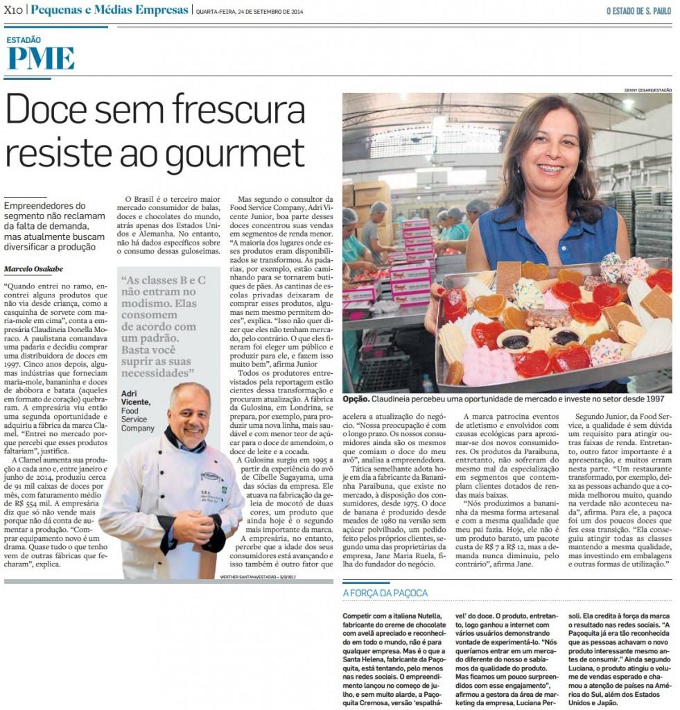 O Estado de S. Paulo - PME - 24.09.2014