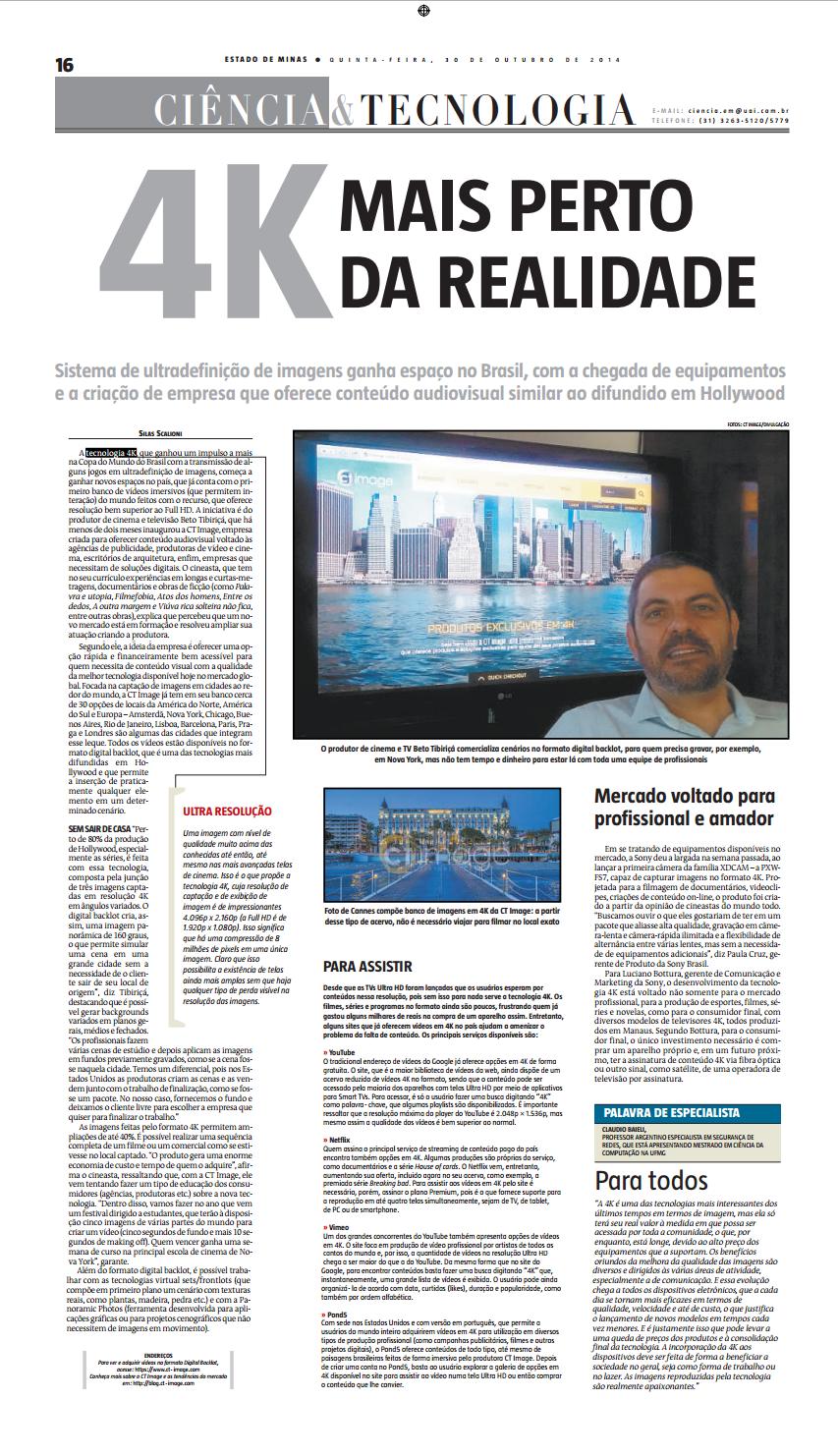 Estado de Minas - 30-10-2014