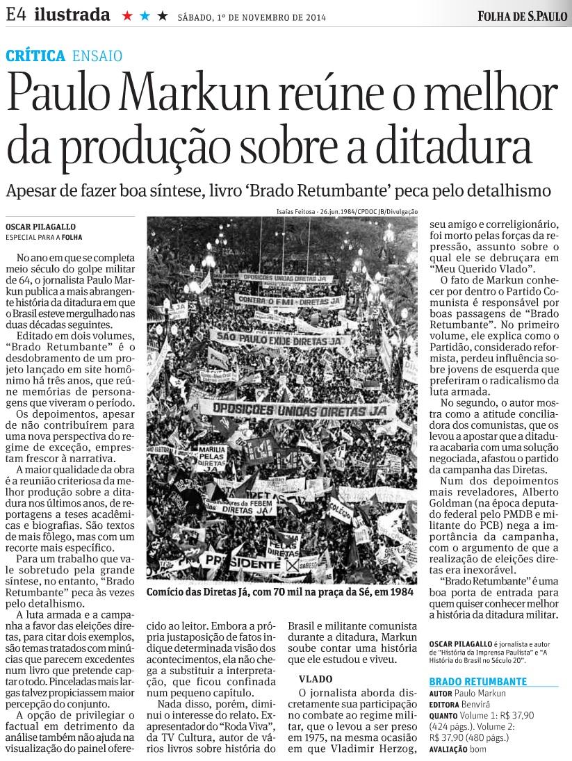 Folha de S. Paulo - 01.11.2014