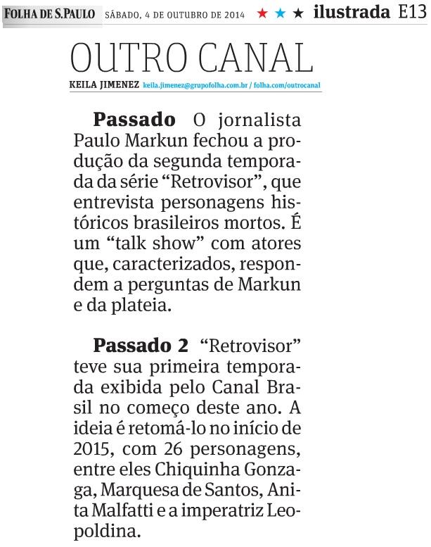 Folha de SP - 06.10.2014