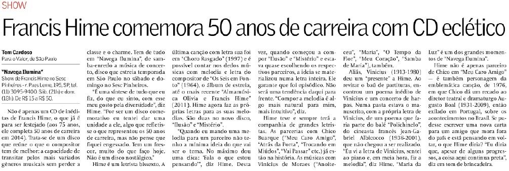 Valor Economico - 10.11.2014