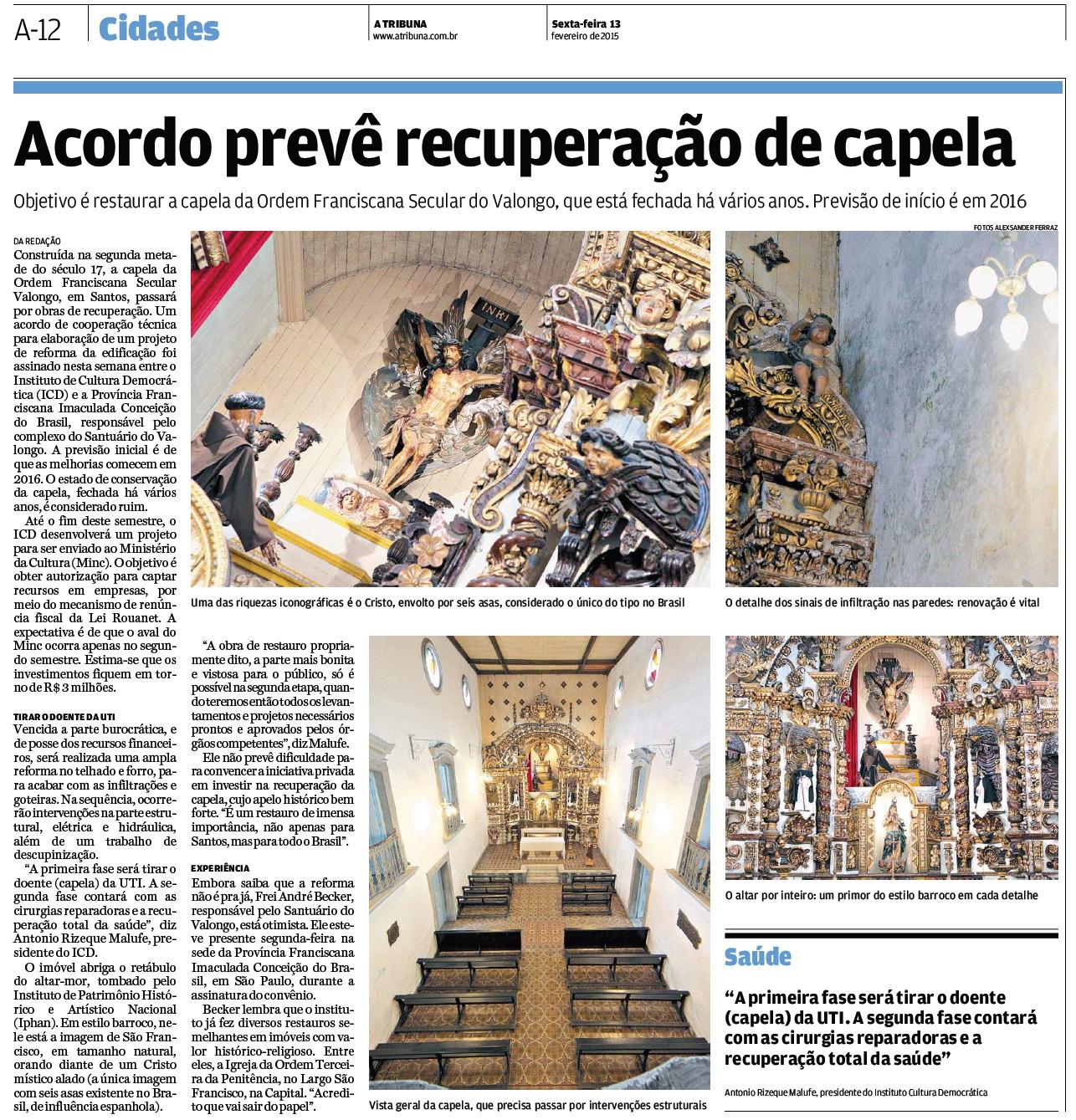 A Tribuna (Santos) - 13.02.2015