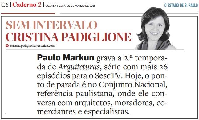 O Estado de S. Paulo - 26.03.2015