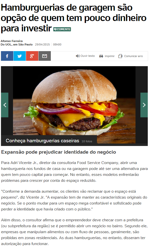Food Service Company - UOL